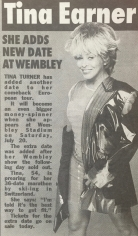 Tina Turner - Newspaper Clippings - 8