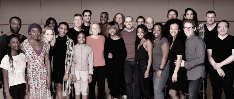 Tina Turner with TINA The Musical Team - 2017