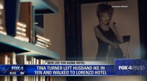 Tina Turner - Lorenzo Hotel - Dallas