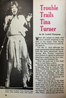 Tina Tuner - Jet Magazine - April 1976 - 1