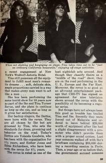 Tina Tuner - Jet Magazine - April 1976 - 2