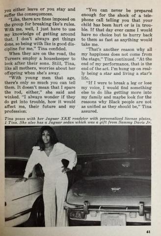 Tina Tuner - Jet Magazine - April 1976 - 4