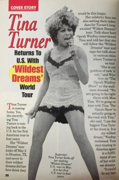 Tina Tuner - Jet Magazine - March 1997 - 2