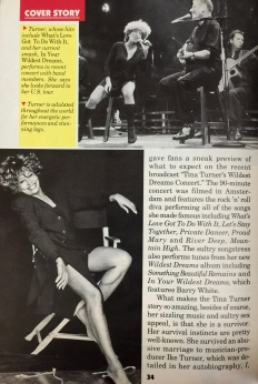 Tina Tuner - Jet Magazine - March 1997 - 4