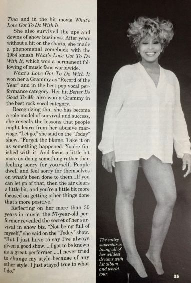 Tina Tuner - Jet Magazine - March 1997 - 5