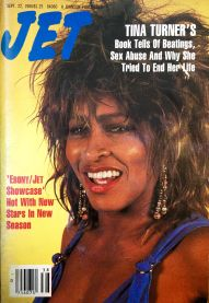Tina Tuner - Jet Magazine - September 1986 - 1