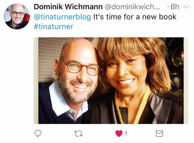 Tina Turner - Dominik Wichmann - new book-2017