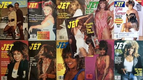 Tina Turner Jet Magazines