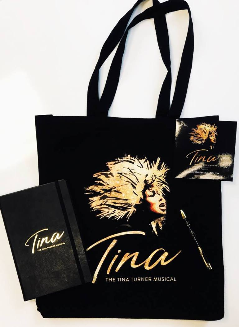 TINA The Musical, Goodie bag