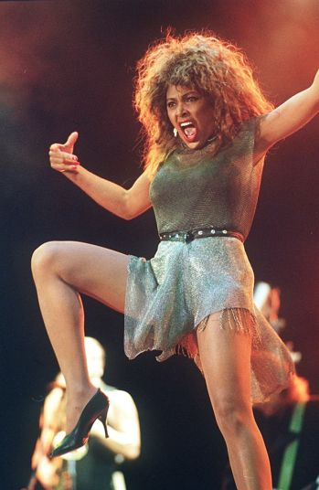 Tina Turner wearing Azzeding Alaia - 1990