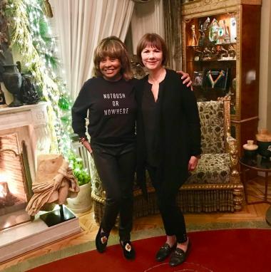 Tina Turner & Deborah Davis