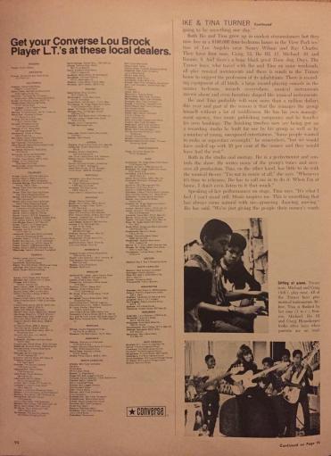 Tina Turner - Ebony Magazine - May 1971 - 6