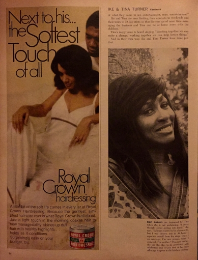 Tina Turner - Ebony Magazine - May 1971 - 7