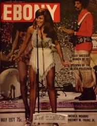 Tina Turner - Ebony Magazine - May 1971 - Cover