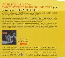 Tina Turner - Eros Ramazzotti - Cose Della Vita - CD 2