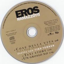 Tina Turner - Eros Ramazzotti - Cose Della Vita - CD 4