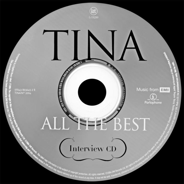 Tina-Promo-All-The-Best-Interview- CD