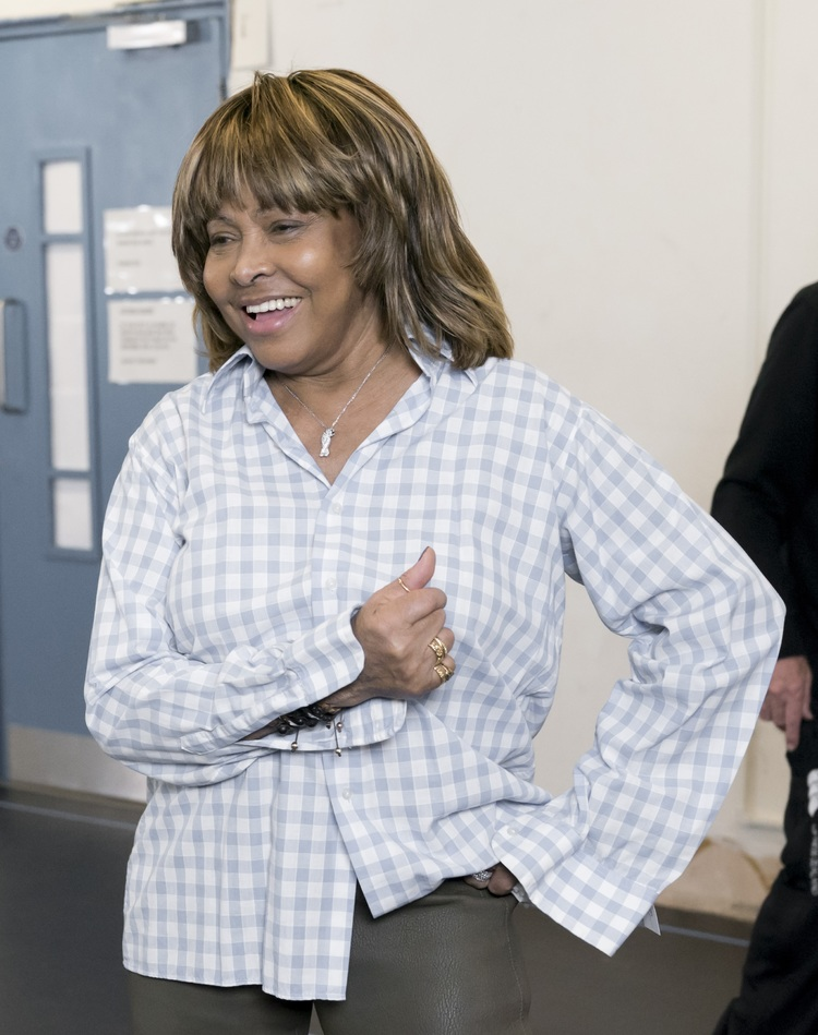 Tina Turner - London - Tina The Musical Rehearsal - 2018