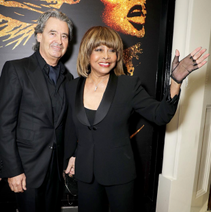Tina Turner & Erwin Bach - TINA The Musical Premiere - London March 2018