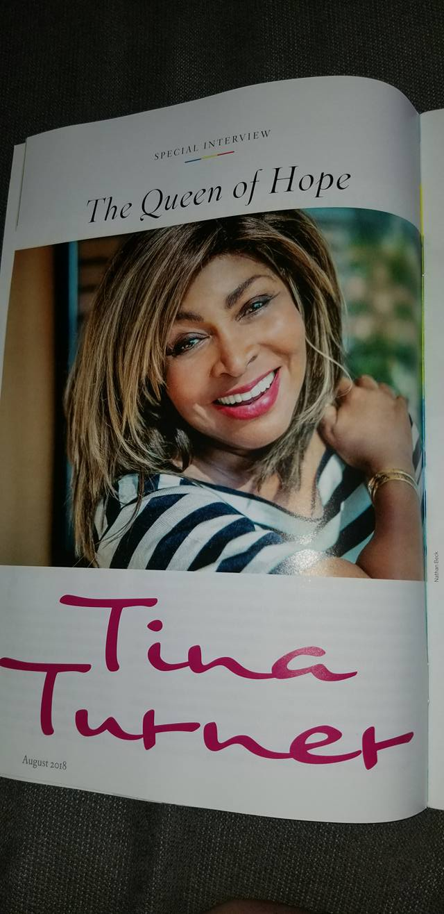 Tina Turner Buddhist Living Mag 2018