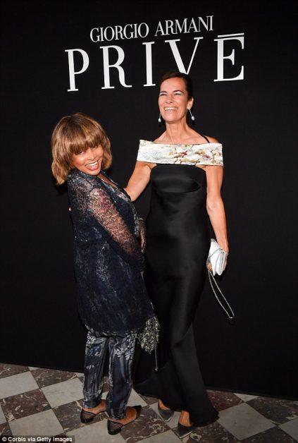 Tina Turner - Paris - Armani 2018 2