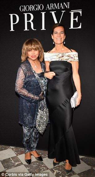Tina Turner - Paris - Armani 2018 3