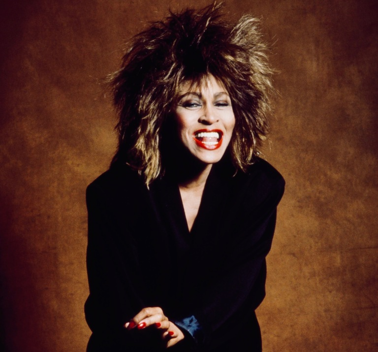 01/01/1985. Close Up Singer Tina Turner