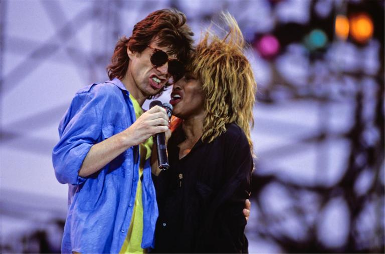 mick jagger and tina turner perf