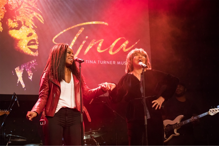Stage Entertainment: TINA - Das Tina Turner Musical - Vorstellung der Hauptdarstellerin Kristina Love